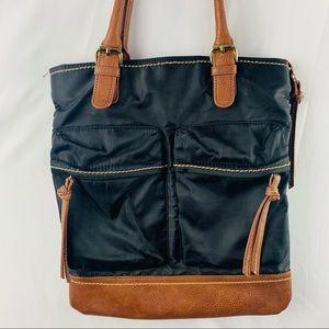 5/$25 Linea Pelle Vegan Leather Shoulder Tote